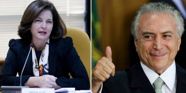 Temer-indica-Raquel-Dodge-para-substituir-Janot-na-chefia-da-PGR