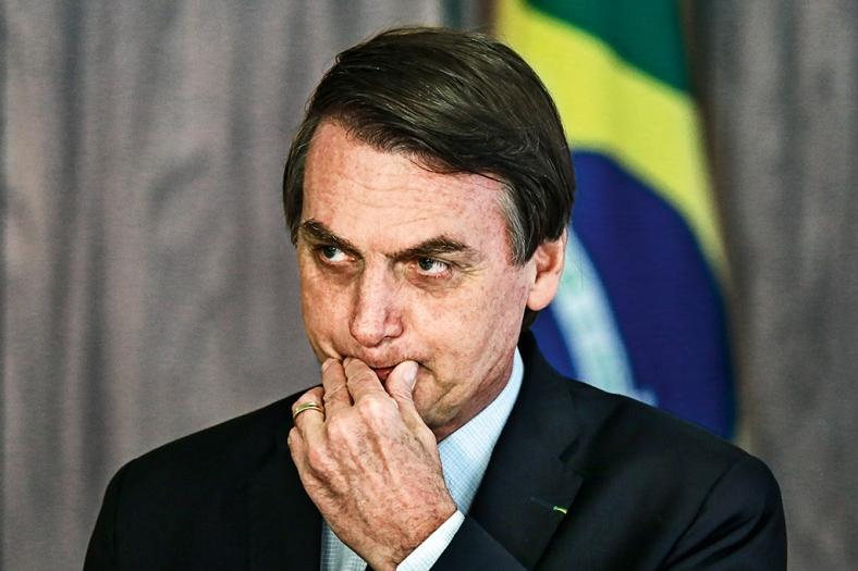 Bolsonaro participa da apresentação de Cartas Credenciais.